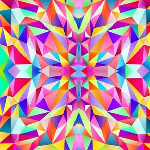 Mirrored Polygons no.1