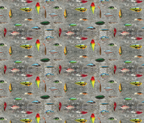 Gone Fishing fabric by jenarra on Spoonflower - custom fabric