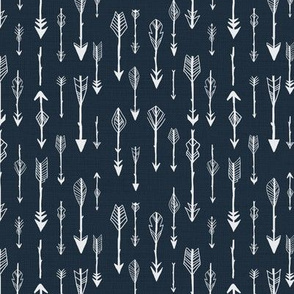 Lots of Arrows, Denim Blue
