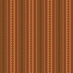Brown Ripple Stripe