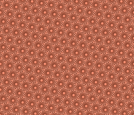 coolswirl 2jx pearl coral fabric by glimmericks on Spoonflower - custom fabric