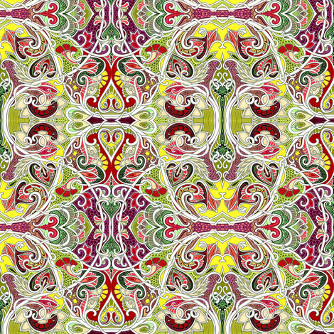 Return to the Summer of Love fabric by edsel2084 on Spoonflower - custom fabric