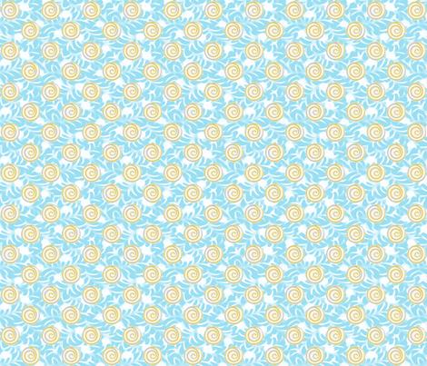 desert oasis fabric by keweenawchris on Spoonflower - custom fabric