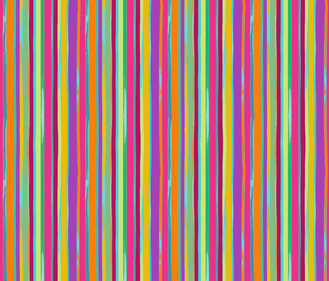 circus stripes candy colors fabric by designed_by_debby on Spoonflower - custom fabric