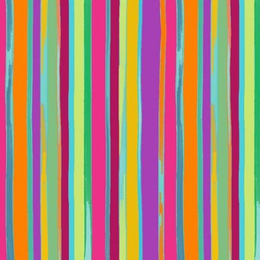 circus stripes candy colors