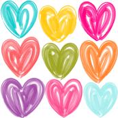 Heart Fingerpaint