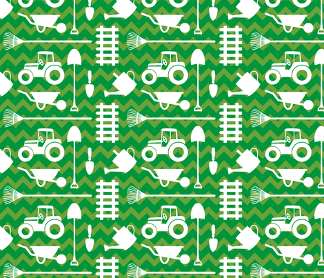 In the Dell fabric by designedbygeeks on Spoonflower - custom fabric