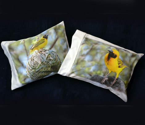 3 Masked Weaver pillowcases