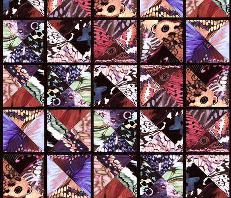 How_Butterflies_Accessorize_6_ fabric by lulutigs on Spoonflower - custom fabric