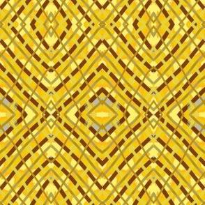 Web Yellow Brown