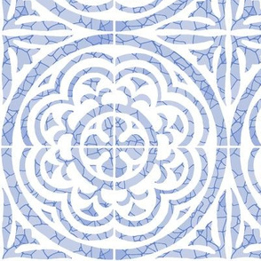 Floral Tile, Violet
