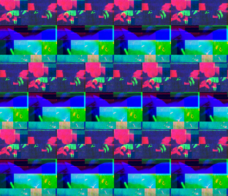 Cachemash Ritual A fabric by asbestosbill on Spoonflower - custom fabric