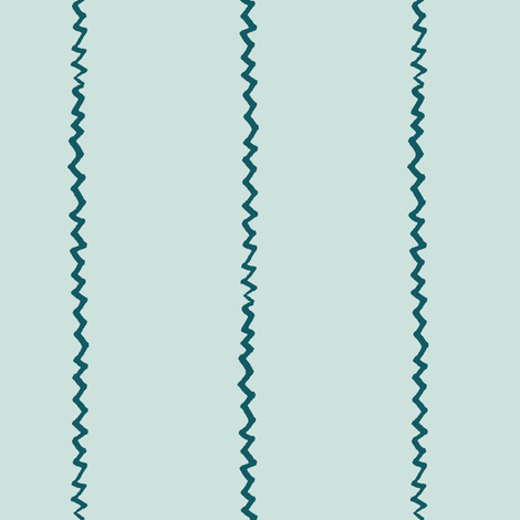 wonky zig zag - sea and sky fabric by ali*b on Spoonflower - custom fabric