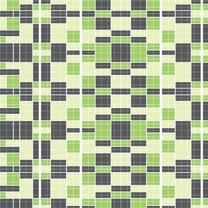 charcoal-green matrix