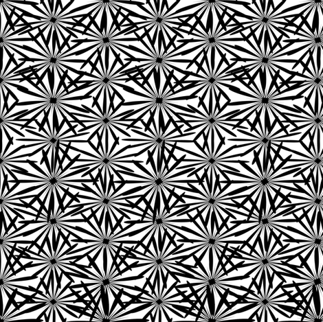 Black and White 9 fabric by leventetladiscorde on Spoonflower - custom fabric