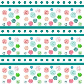 Chantilly  Drops  -Ocean stripes 2