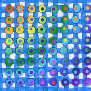 checkered_tablecloth_blue_and_dots
