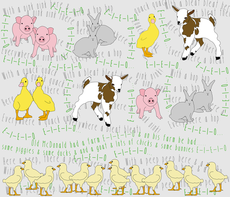 farm2 fabric by subtlegracedesignstudio on Spoonflower - custom fabric