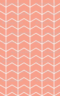 coral chevron