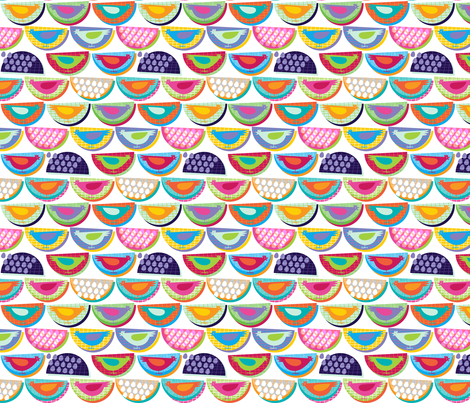 Little Chickens fabric by spellstone on Spoonflower - custom fabric
