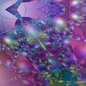 Purple Bubble Fractal
