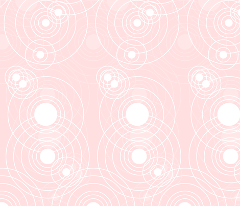 Soft Pink Echo fabric by fig+fence on Spoonflower - custom fabric