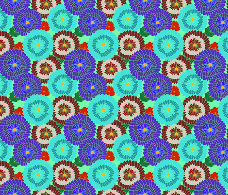 Spring fabric by livecolorful on Spoonflower - custom fabric