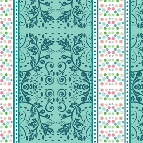 Chantilly Lace -Ocean-vertical