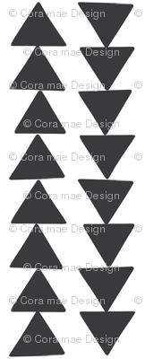 Charcoal triangle chain
