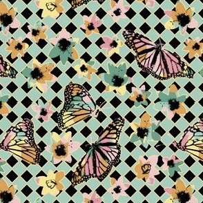 Spring Scratchboard Butterflies