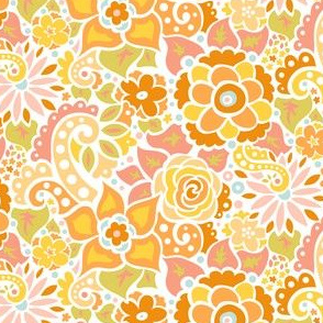 Yellow Doodly Flowers