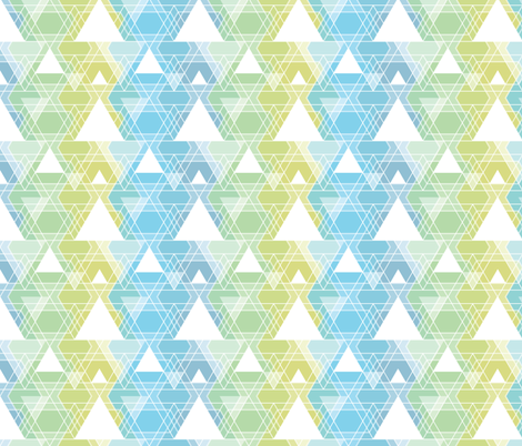 Triangle overlay fabric by linkolisa on Spoonflower - custom fabric