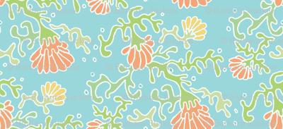 seaflowers blue