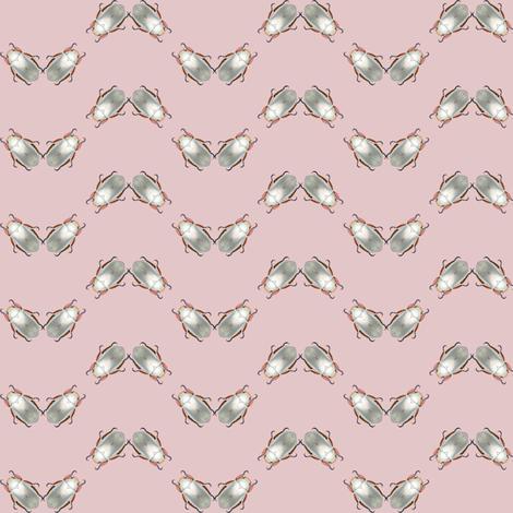silver scarab chevron fabric by keweenawchris on Spoonflower - custom fabric