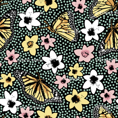Dotty Spring Butterflies