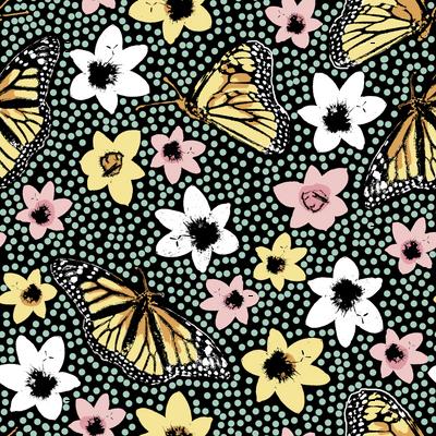 Dotty Spring Butterflies