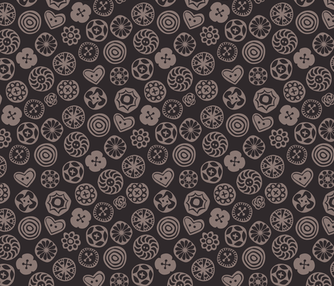 Buttons fabric by chris_jorge on Spoonflower - custom fabric