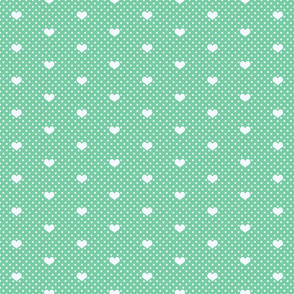 Polka Dot and Heart Peppermint