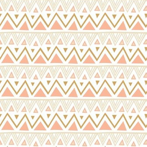 Pastel Tribal - Coral