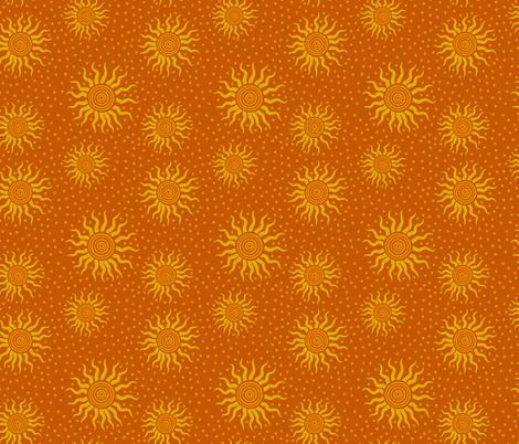 Cosmic Sun Rays fabric by shellypenko on Spoonflower - custom fabric