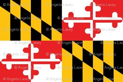 MD Flag Maryland Smaller