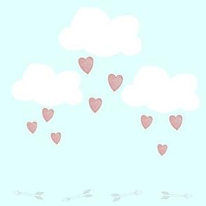 Clouds, Hearts, & Arrows