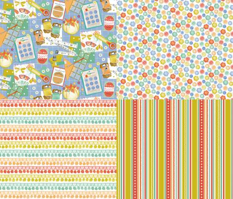 All 4 Sewing fabric by jillbyers on Spoonflower - custom fabric