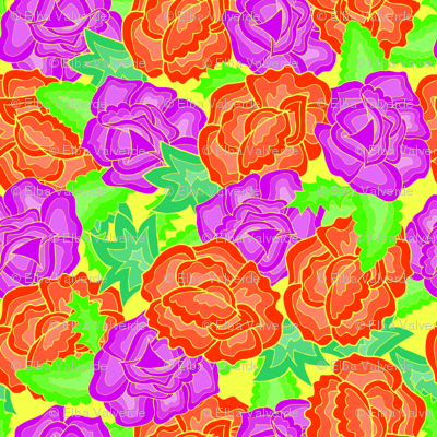 Bright Roses