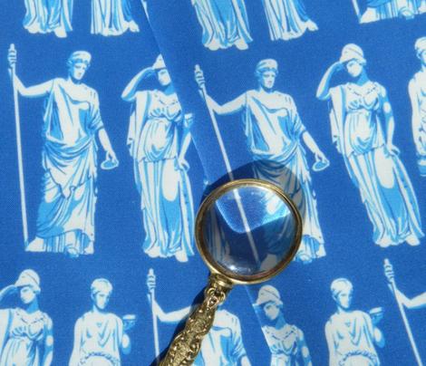 Kolonaki Goddess - Blue