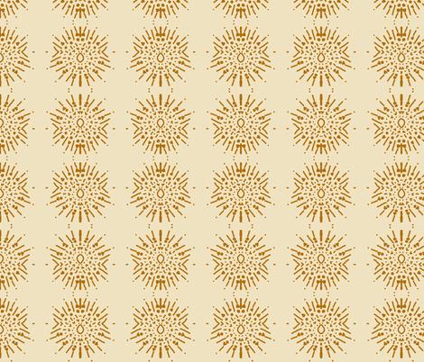 Stars Brown fabric by emblaze on Spoonflower - custom fabric