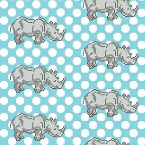 Dot Dot Rhinos Trot