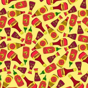 Condiments and Sauces in Yellow