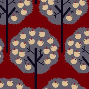 Apple-trees-lila--pattern