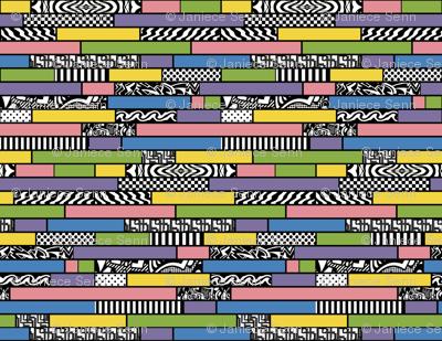 Changing my Stripes pastel horizontal